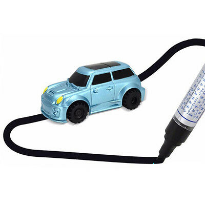 Follow Any Drawn Line Magic Pen Inductive Toy Car Tank Model Include Battery