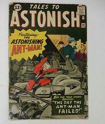 Tales to astonish 40 ..Early Antman Kirby