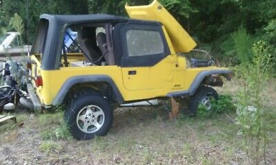 2003 Jeep Wrangler Sport 03' Jeep Wrangler TJ--No drive train! WILL NOT PART OUT