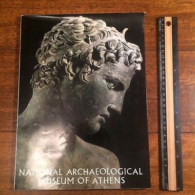 NATIONAL ARCHEOLOGICAL MUSEUM of ATHENS Ancient Greek Art Sculpture Bronze 1975