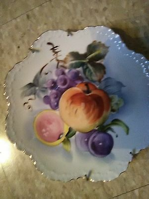 CollectorFruit Plate- Lefton China  # 6927