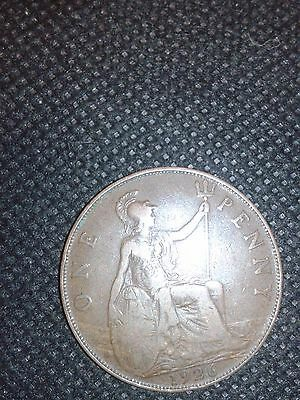 1926 Great Britain Penny - Bronze