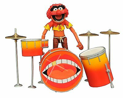 The Muppets Animal and Drum Kit Action Figures Diamond Select