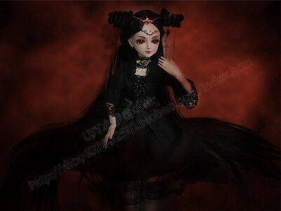 "24"" New 1/3 Handmade PVC BJD MSD Lifelike Doll Joint Dolls Baby Gift New Vampire"