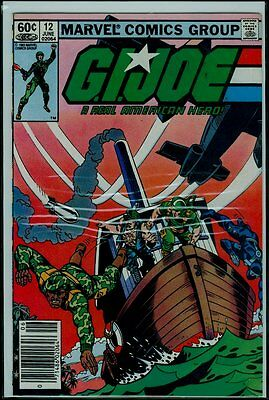 Marvel Comics GI JOE #12 1st Print VFN- 7.5