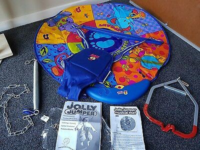 Jolly Jumper with musical mat *hardly used