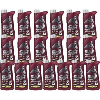19x1 LITRE GENUINE Mannol Automatic Transmission Fluid ATF AG52 Special