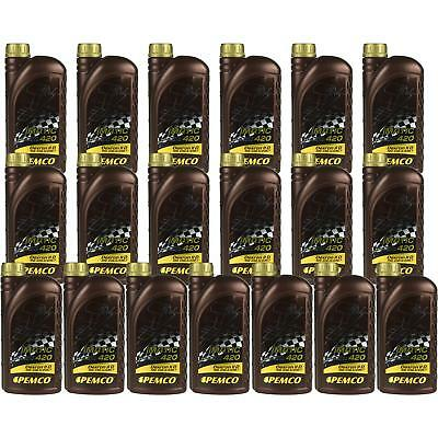 19x1 Litre Original PEMCO Automatic transmission fluid iMATIC 420 ATF IID Gear