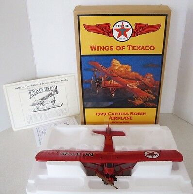 ERTL - Wings of Texaco - 1929 Curtiss Robin Airplane 6th in Series