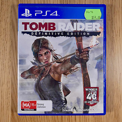Tomb Raider Definitive Edition - Sony PlayStation 4 / PS4 - PAL - COMPLETE