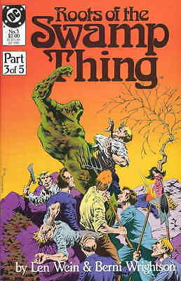 Roots of the Swamp Thing #3 & 5 - Berni Wrightson - 1986 - Very Fine/Near Mint