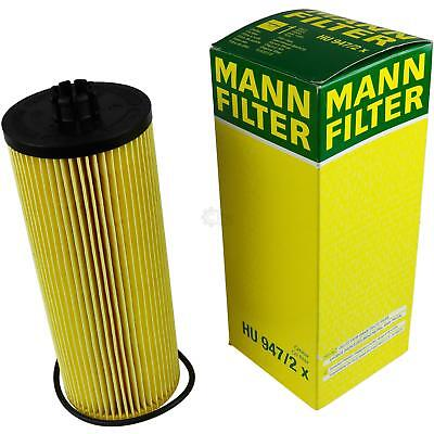 Original MANN-FILTER Ölfilter Oelfilter HU 947/2 x Oil Filter