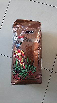 Kirkland Signature Rwandan bean Coffee 1.36kg Dark Roast
