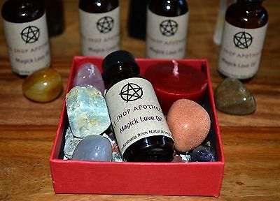 Magick Love Oil - Spell Shop Apothecary