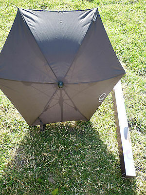 Genuine Quinny Sun Parasol- Black -Brand New- Still Boxed-Never Been Used