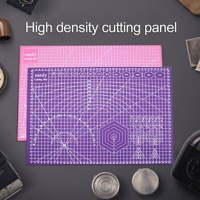 A3/a4/a5 Cutting Mat Self Healing Printed Grid Lines Knife Board Craft Model Kf