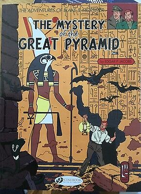 the adventures of blake and mortimer, the mystery of the great pyramid vol 2.