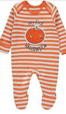 My First Halloween Baby Grow Costume 3-6 Months