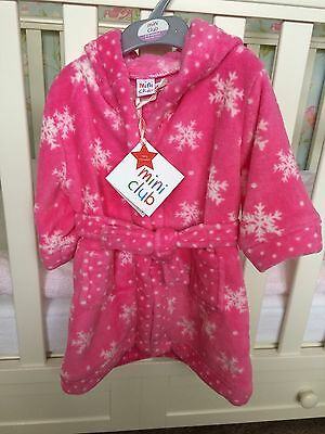 Mini Club Baby Dressing Gown 6-9 Months