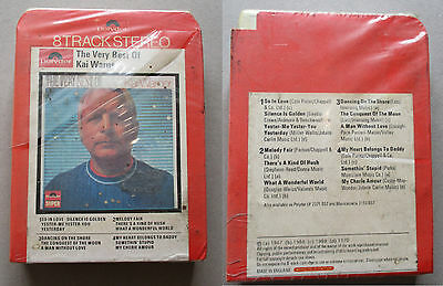 the very best of kai Warner    RARE 8 Track Tape Cartridge -SEALED!