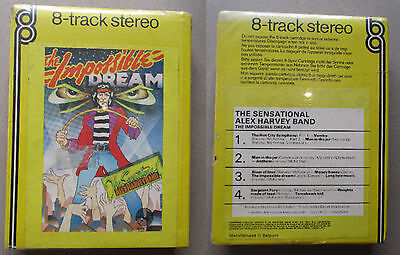 the sensational Alex Harvey band The impossible dream 8 Track Tape sealed