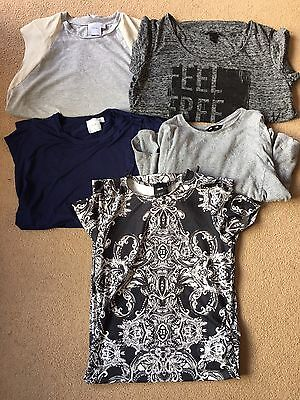 Maternity Clothes Bundle Size 12 Asos & H&M 5 Items Tops & Dress