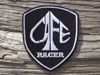A075 ECUSSON PATCH THERMOCOLLANT aufnaher toppa CAFE RACER moto motard biker