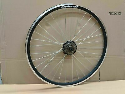 MadSpeed7 700c Road Racing Bike Rear Shimano 6/7 Speed Free Wheel Sealed Bearing