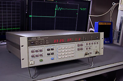HP 3325B Synthesizer / Function Generator BOTH Options 001 and 002