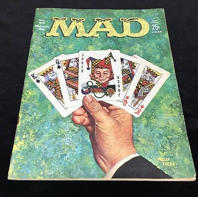 Mad Magazine No. 69 March 1962 Vintage 17-1820