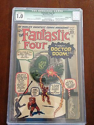 Fantastic Four #5 - First Appearance of Dr Doom!!