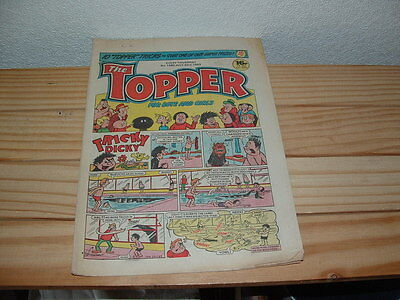 12 Topper   Comics Consecutive Issues  1982 1983