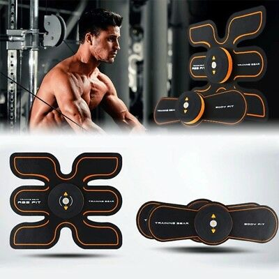 New EMS Muscle ABS Fit Training Gear Abdominal Body Home Exercise Shape Fitness