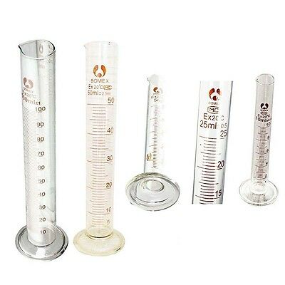 Graduated Glass Measuring Cylinder Chemistry Laboratory Measuring T1 Measure