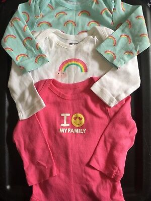 Onsies, girl, Rainbow 0-3mnths