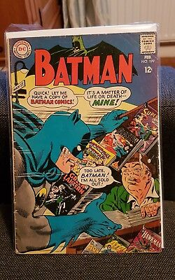 Batman 199 Dc comics