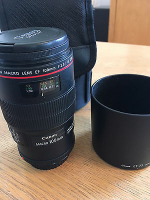 Canon EF 100mm F/2.8 2.8 L IS USM Macro