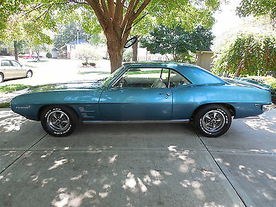 1969 Pontiac Firebird  1969 PONTIAC FIREBIRD COUPE (LOW MILE CAR)