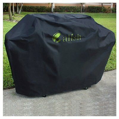 CALISH Cover Barbecue Heavy Duty Waterproof Breathable Oxford Fabric Large