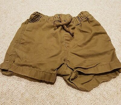boys 6-9months shorts from next