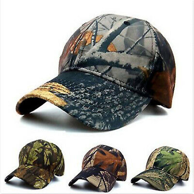 HIGH Mens Camouflage Military Adjustable Baseball Caps Hunting Fishing Army Hat