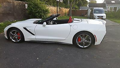2014 Chevrolet Corvette Stingray 2 LT C7 Corvette Stingray Convertible
