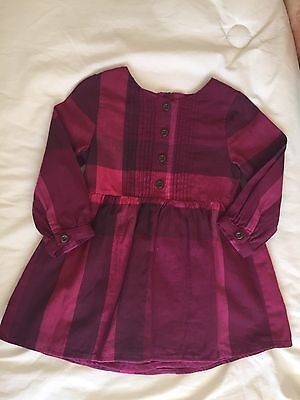 Robe BURBERRY 18 Mois Authentique Bebe Fille