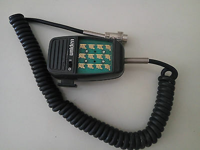 OEM Uniden Force Mobile Radio Mic Microphone DTMF AMX101A - 5 Pin connector