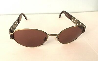 5e5032459992 GORGEOUS VINTAGE FENDI FS 154 Tortoise   Antique Bronze Sunglasses ...