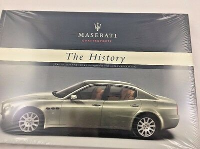 Maserati Quattroporte, The History Book, New, P/N 920000965