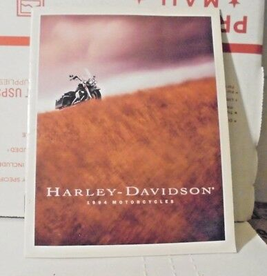 1994 Harley Davidson Motorcycles Dealers Sales Small Brochure