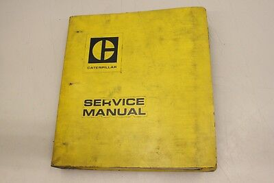 CATEPILLAR 910 Wheel Loader CAT 1973 Werkstatthandbuch Service Manual REG01330