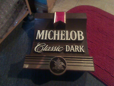 vintage michelob classic dark beer sign