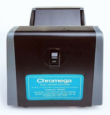 Chromega Color Dual Action Agitator Motor Base. Use with 8x10 11x14 16x20 drums